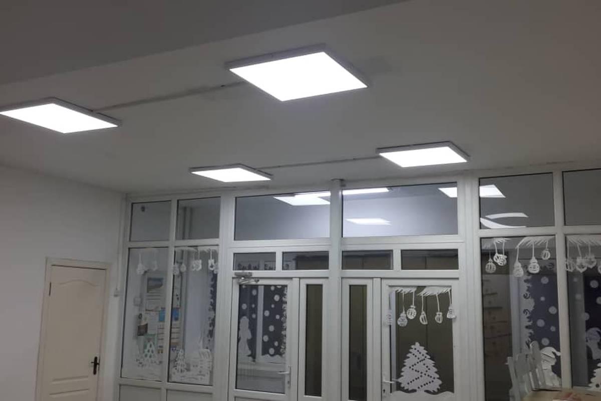 Улучшение искусственного освещения школьных помещений