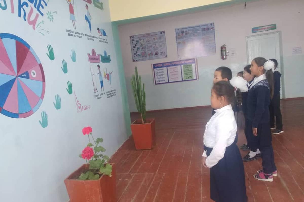 Художественное оформление помещений школы