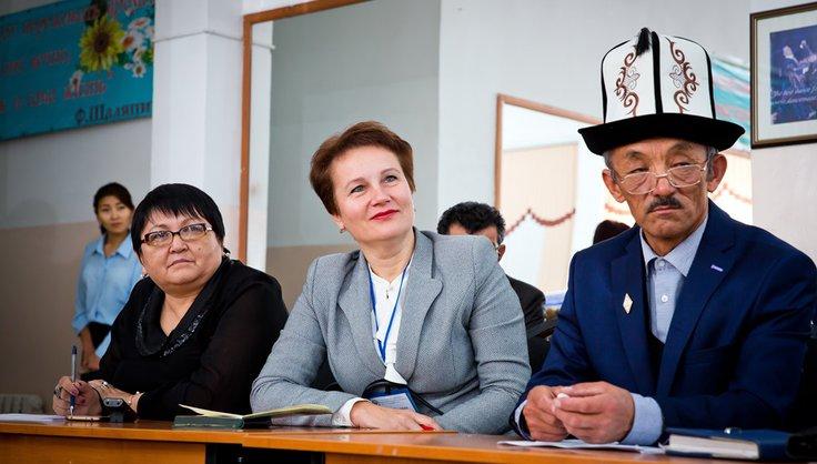 Бишкеке участники V Съезда учителей стран СНГ обсудили проблемы безопасности образовательной среды