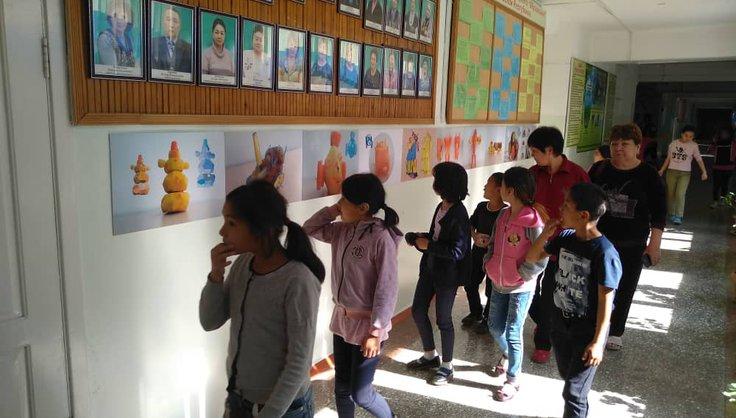 В школе интернате № 21 появилась новая арт-галерея