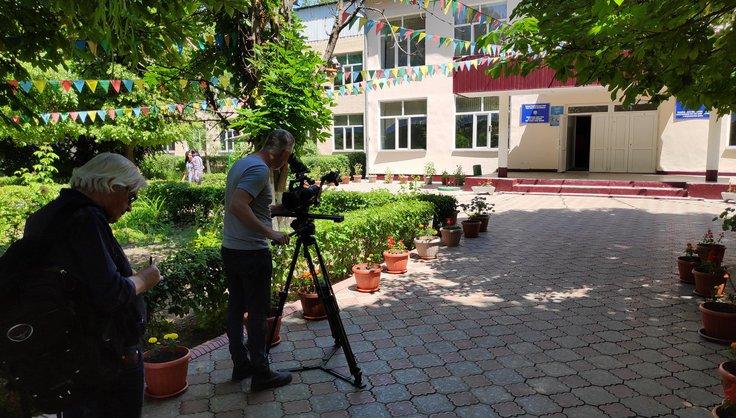 Европейские телезрители познакомятся с передовыми практиками обеспечения безопасности образовательной среды в школах Кыргызстана