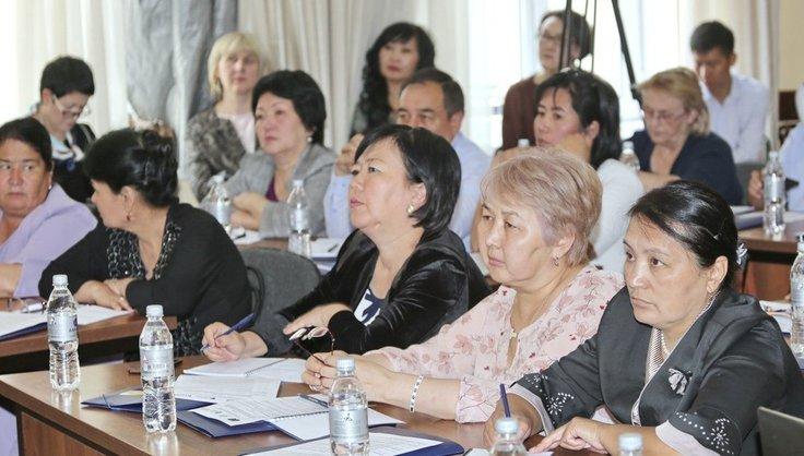 Билим Акипресс / Учителя со всего Кыргызстана обменялись опытом по безопасности образовательной среды в школах