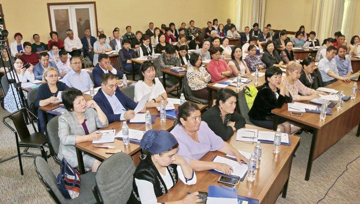 """Time KG / В Бишкеке прошел Форум """"Безопасность образовательной среды: обмен опытом и практики аккредитации"""""""