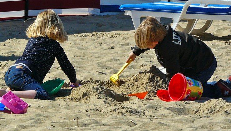 Кинестетический песок для снятия стресса
