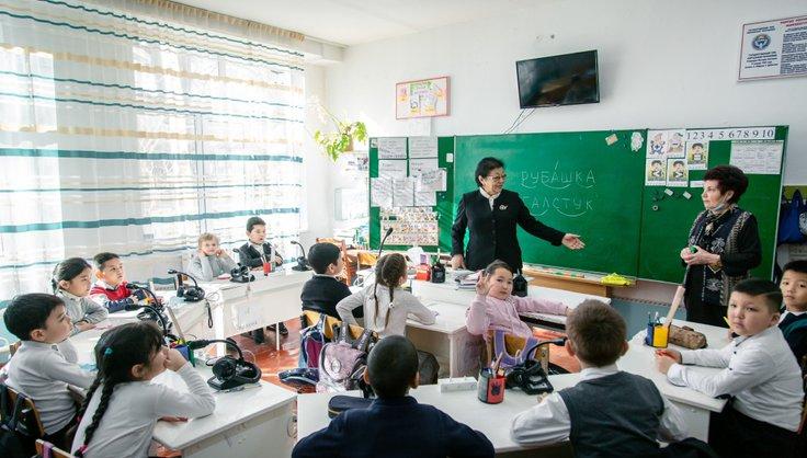 / Как природный газ помог детям школы-интерната №21
